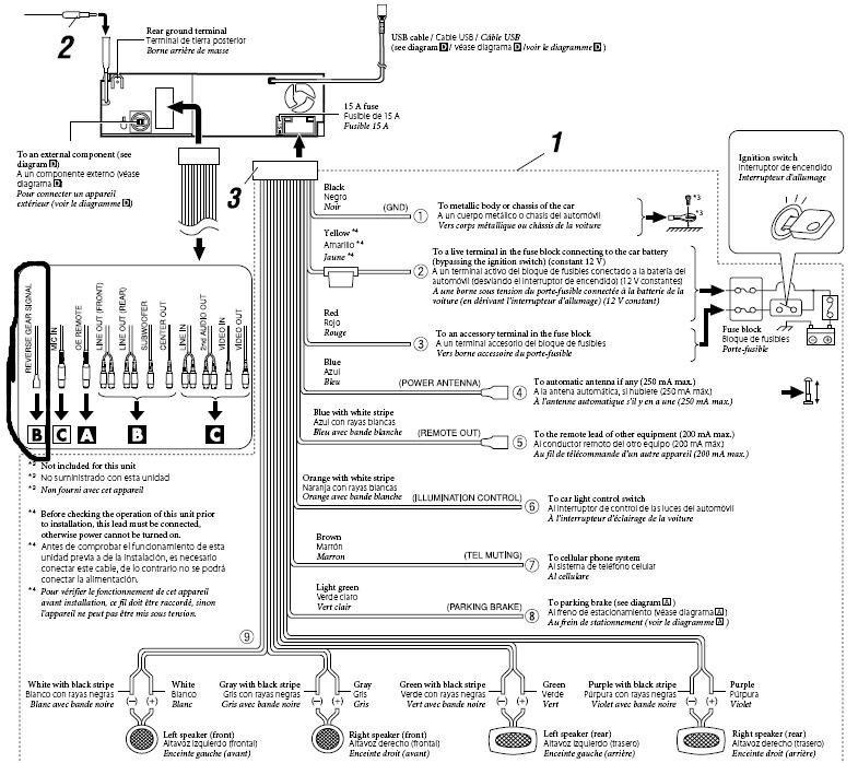 Jvc Kd-r330 Wiring Diagram