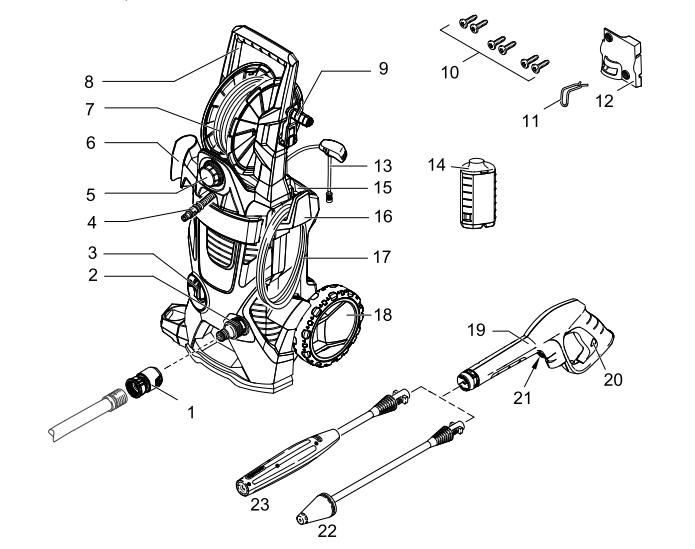 Karcher Model K 5.540 Wiring Diagram