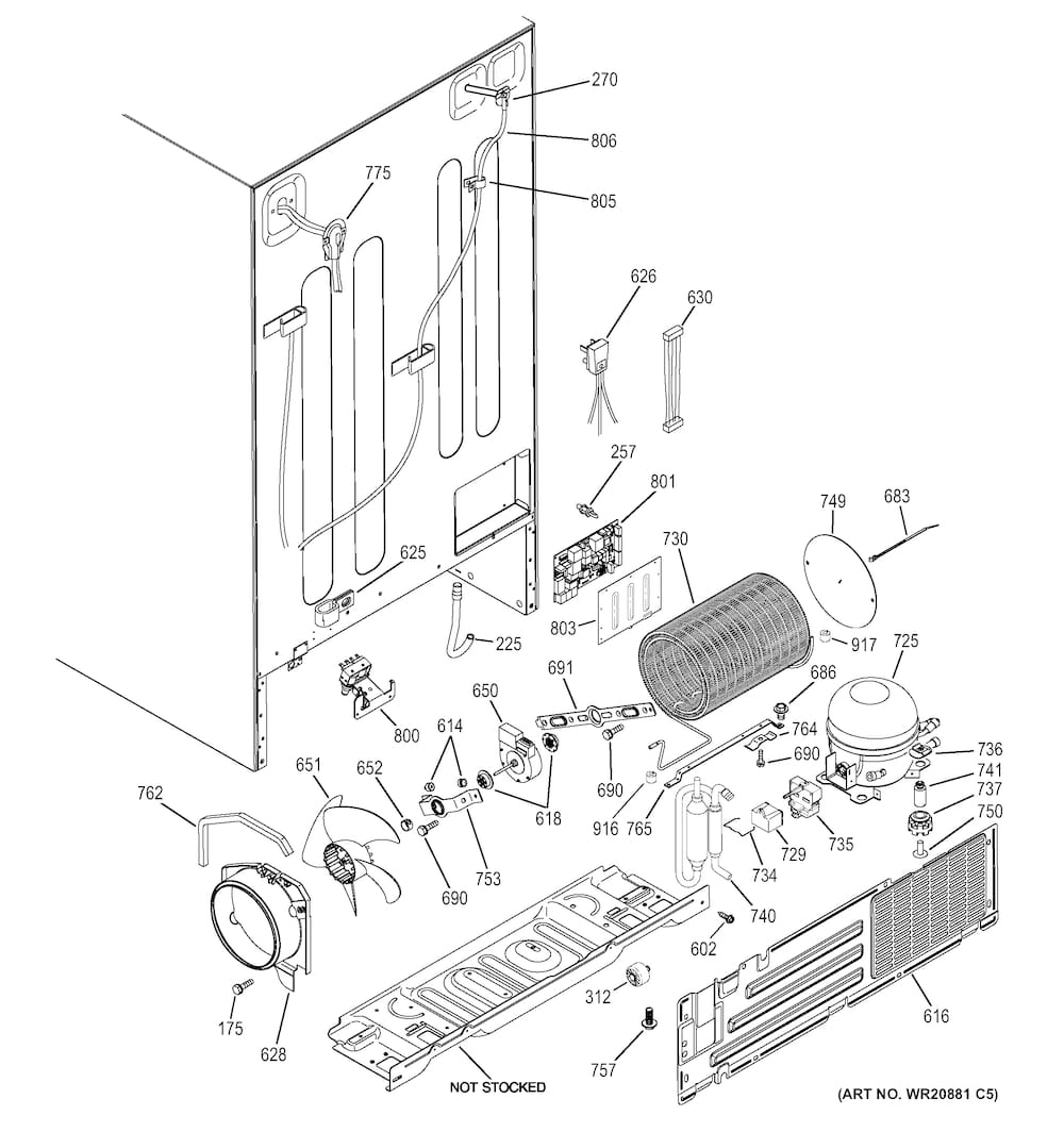 Kenmore Refrigerator Model 1067680640 Wiring Diagram