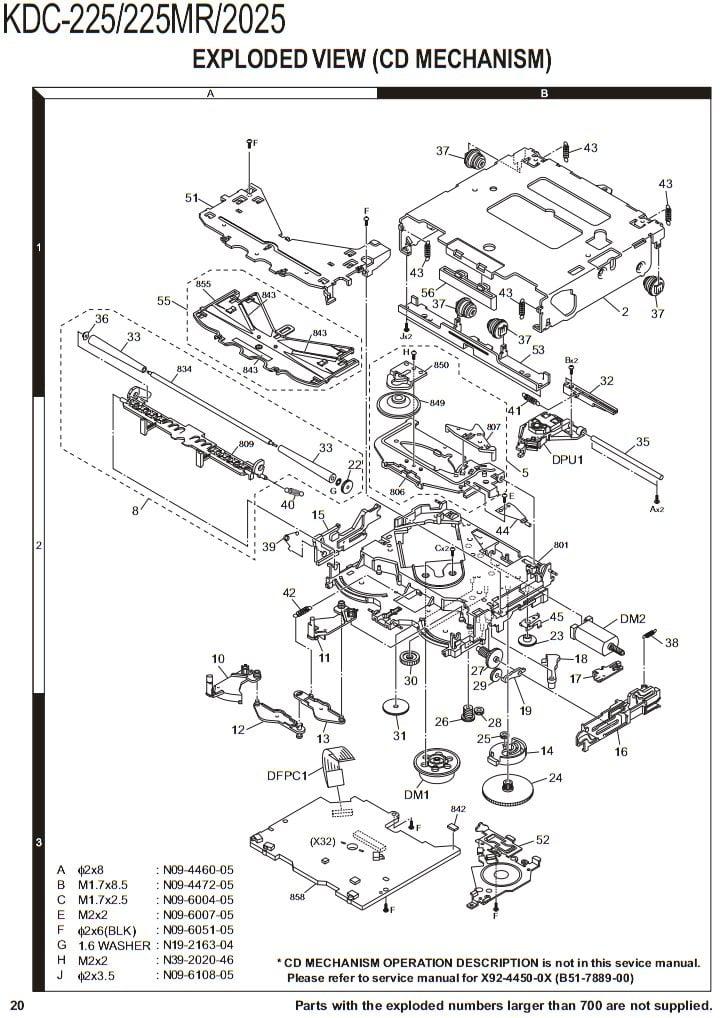 Kenwood Kdc 400u Wiring Diagram
