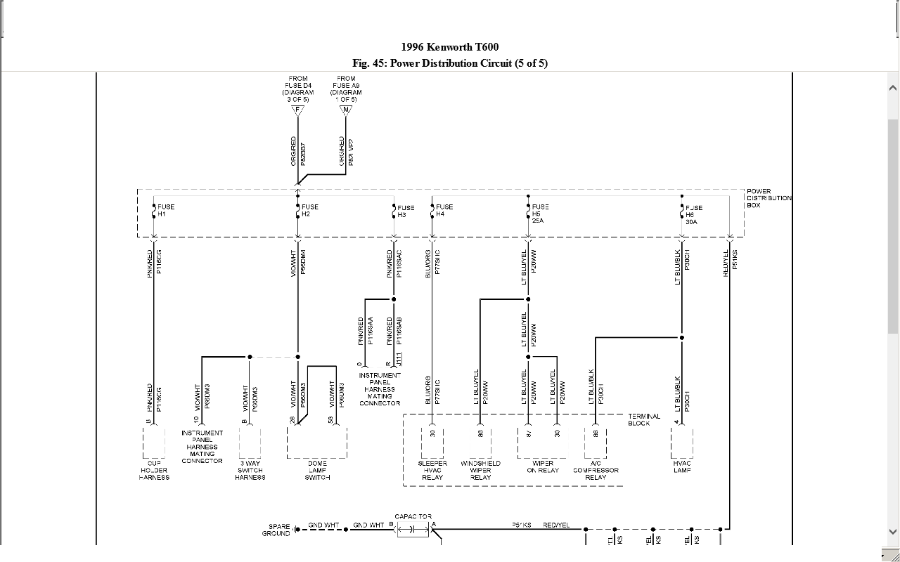 [WQZT_9871]  Kenworth t600 clutch linkage diagram | Kenworth T600 Wiring Diagrams |  | ukraita.com