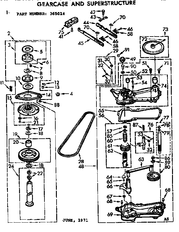Kobalt Model 0332041 Wiring Diagram