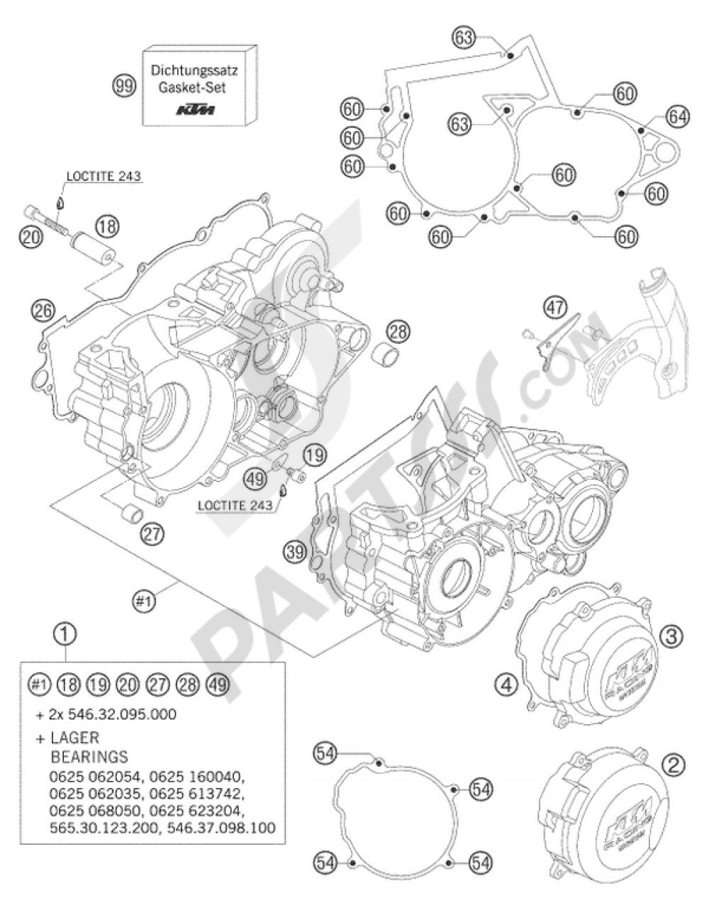 medium resolution of ktm 520 exc wiring diagram