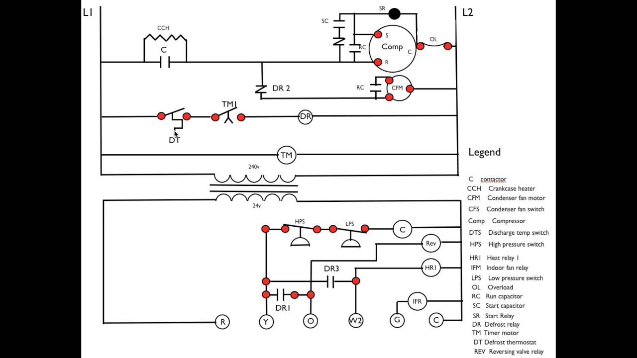Ladder Wiring Diagram For Daikin Heat Pump