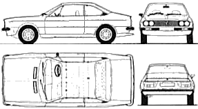 Lancia Beta Coupe Wiring Diagram