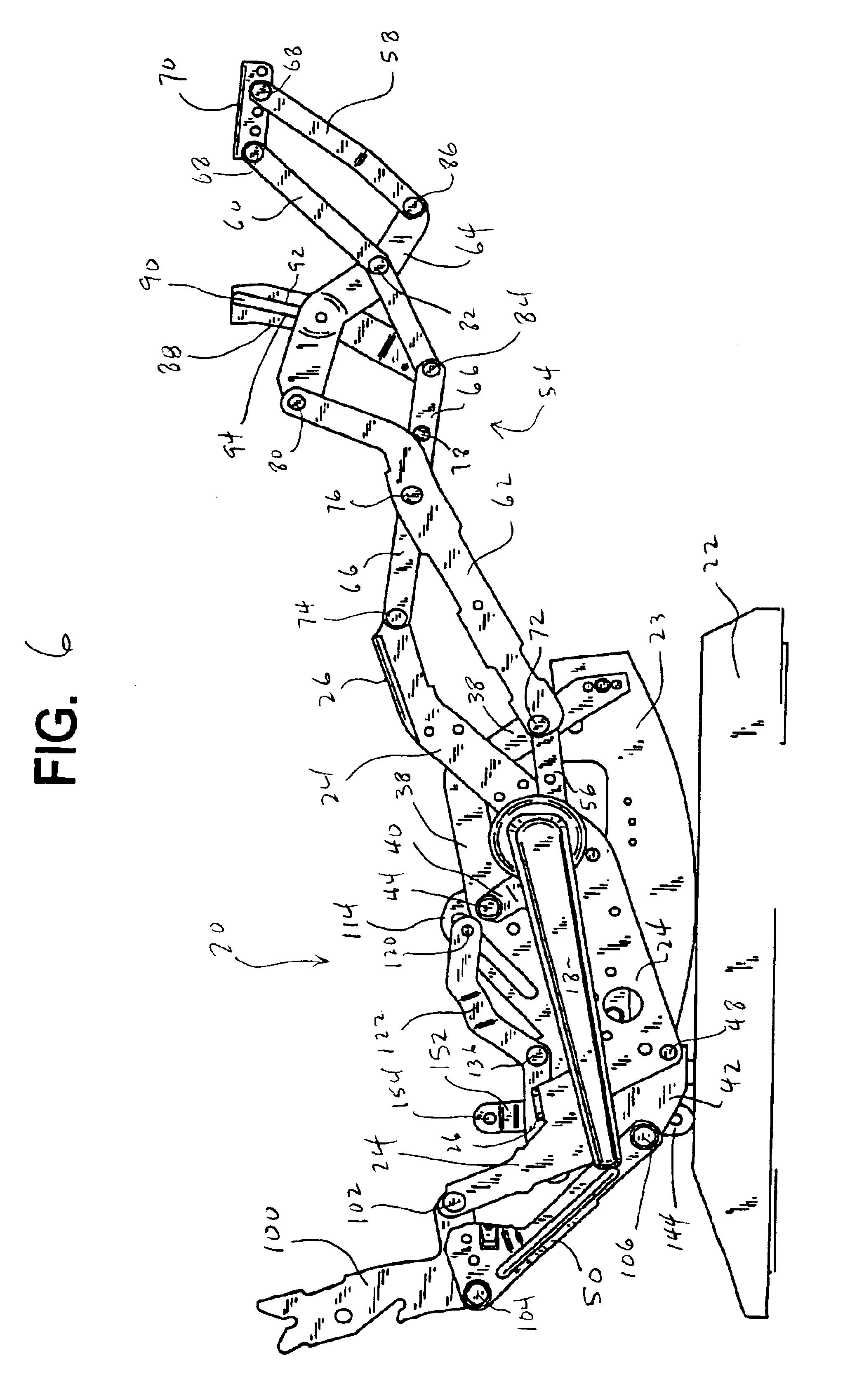 Lazy Boy Recliner Mechanism Diagram