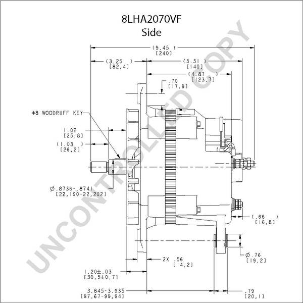 Leece Neville 8lha2070vf Alternator Wiring Diagram