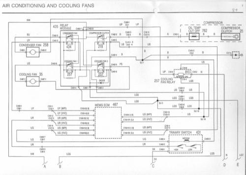 small resolution of central air conditioner thermostat wiring diagram