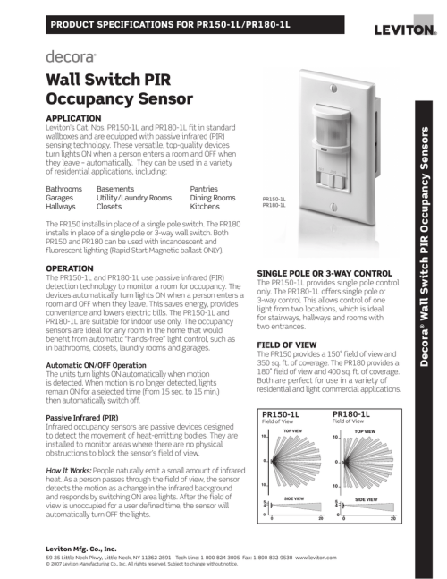 small resolution of pir wall switch wiring diagram