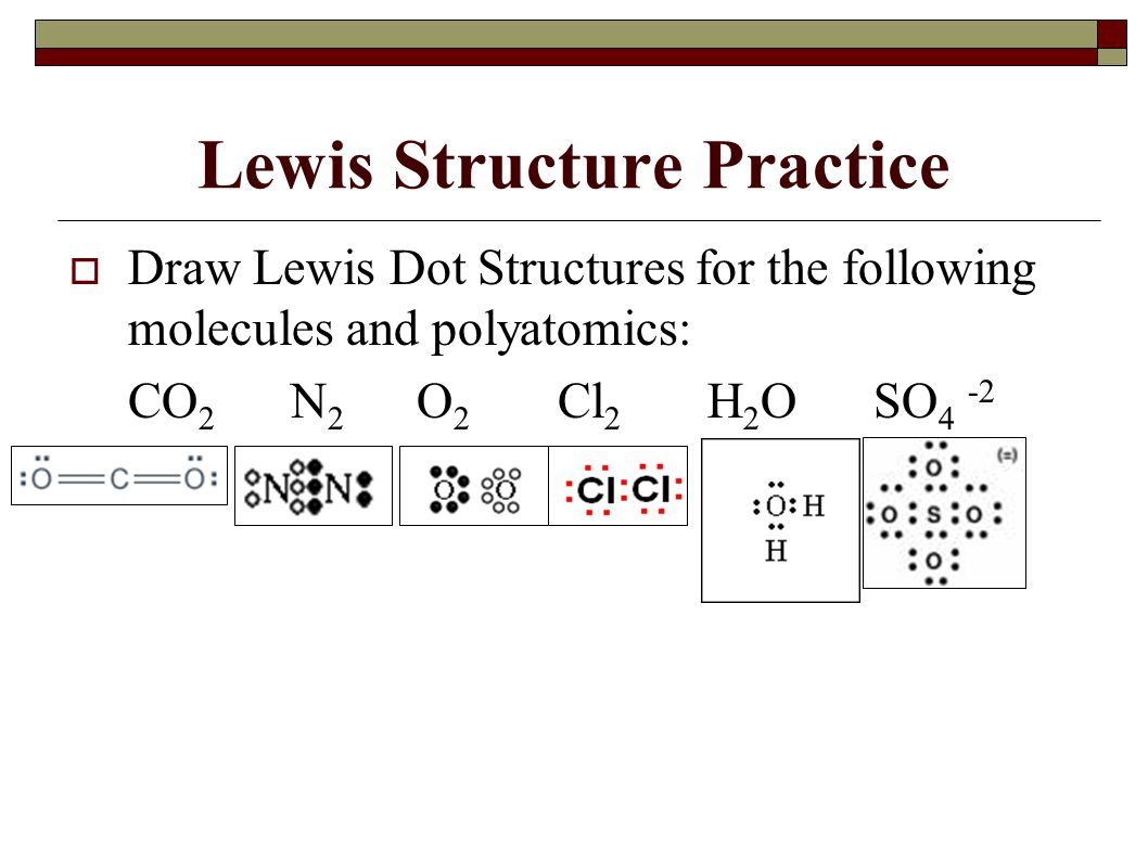Lewis Dot Diagram For O2
