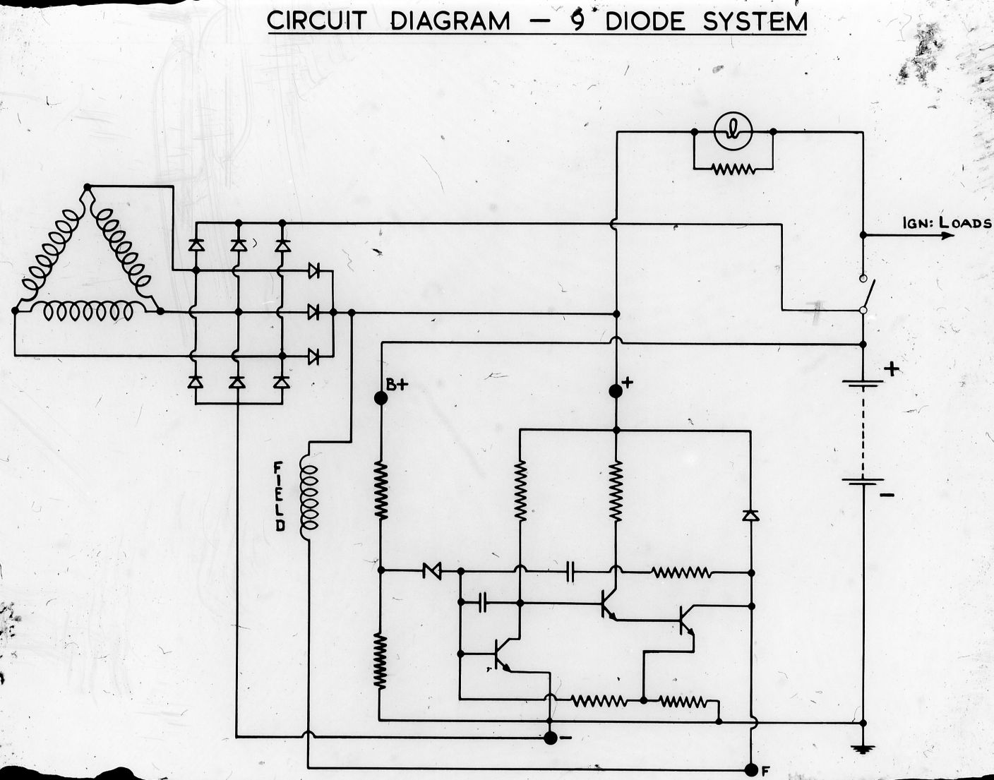 Lucas Acr Alternator Wiring Diagram