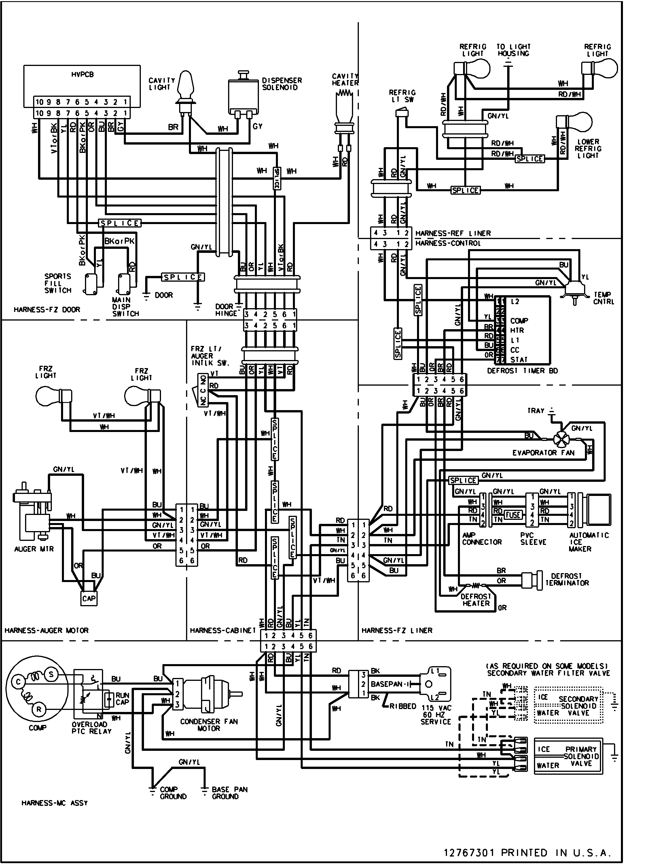 Luxaire Hamd-fo24sa Wiring Diagram