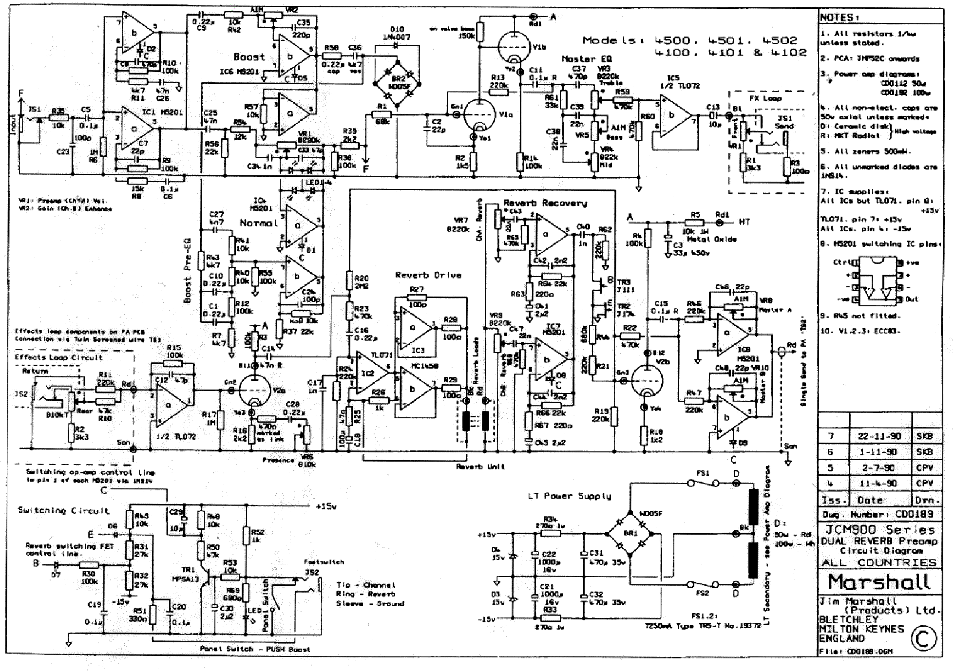 Marshall A Wiring Diagram