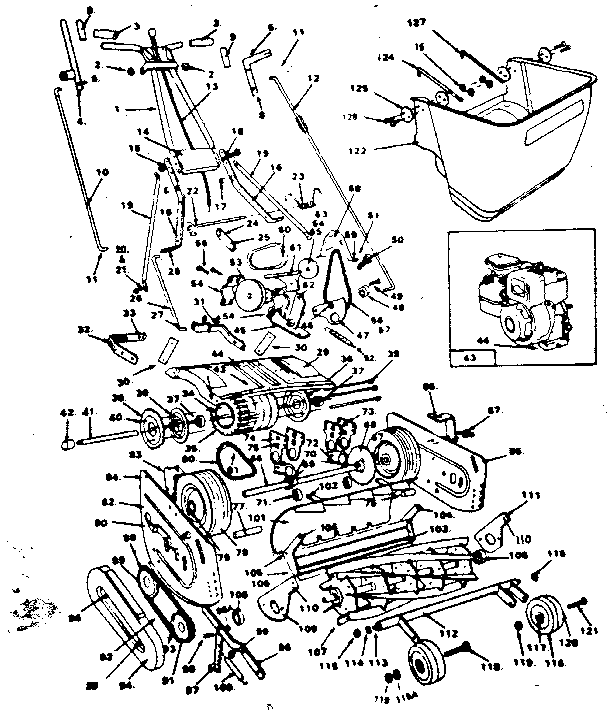 Mclane Edger Parts Diagram