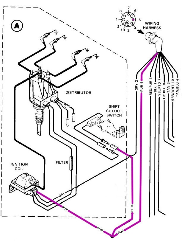 Mercruiser 3.0 Starter Wiring Diagram