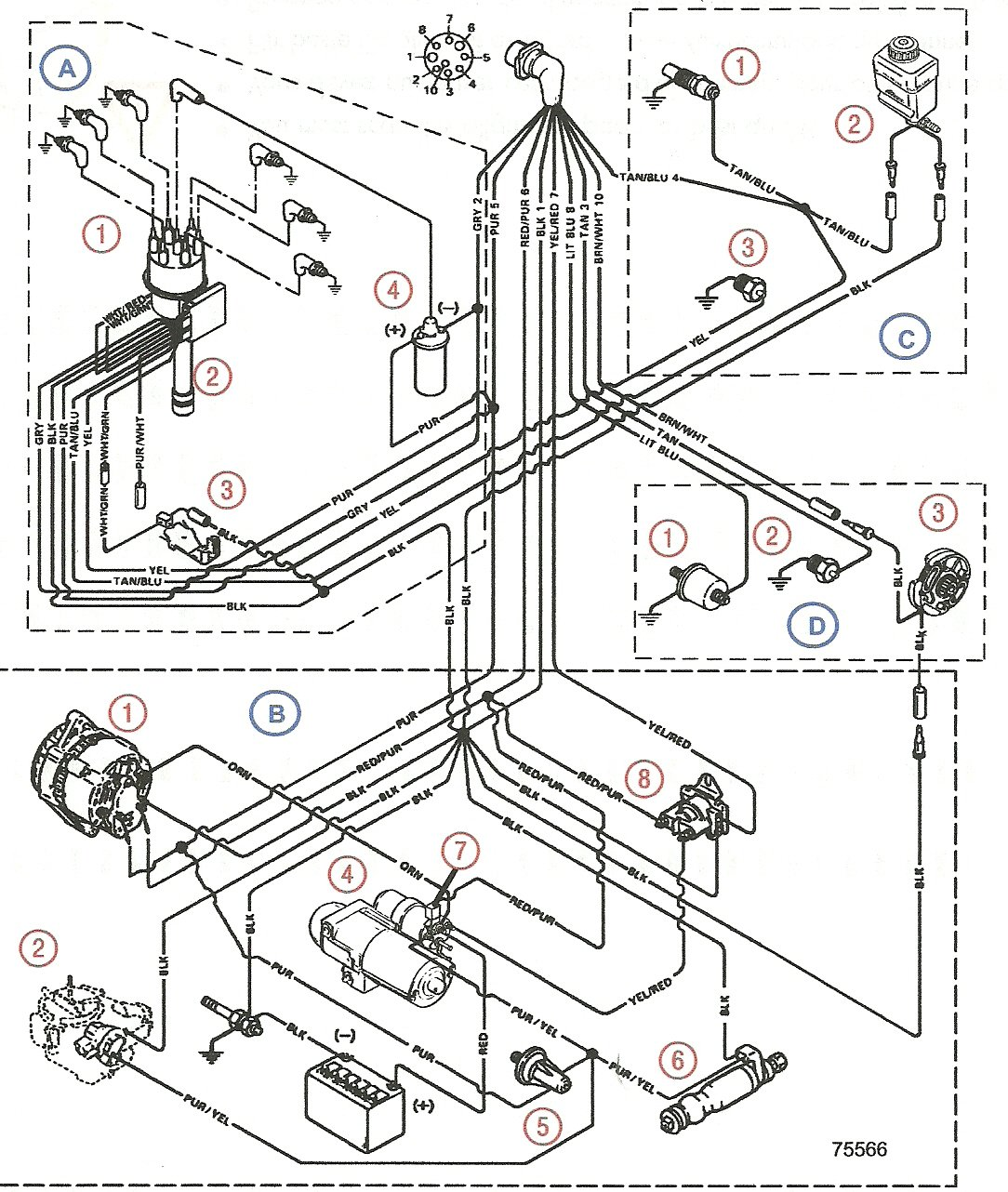Mercruiser 7.4 Wiring Diagram