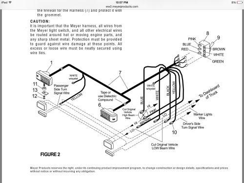 small resolution of meyer truck light wiring diagram