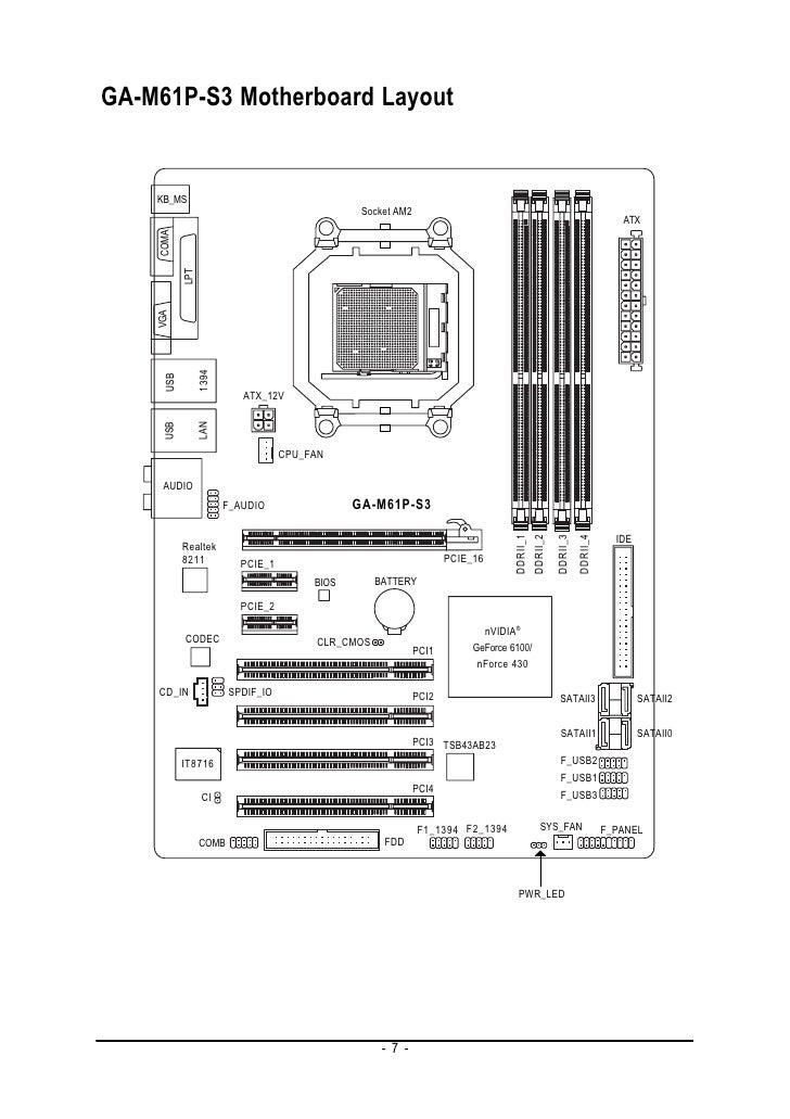 Motherboard Sp#461536-001 Wiring Diagram