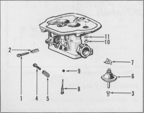 Motorcraft 2100 Electric Choke Wiring Diagram