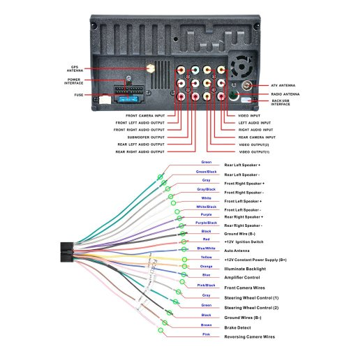 small resolution of wiring diagram for auto antenna
