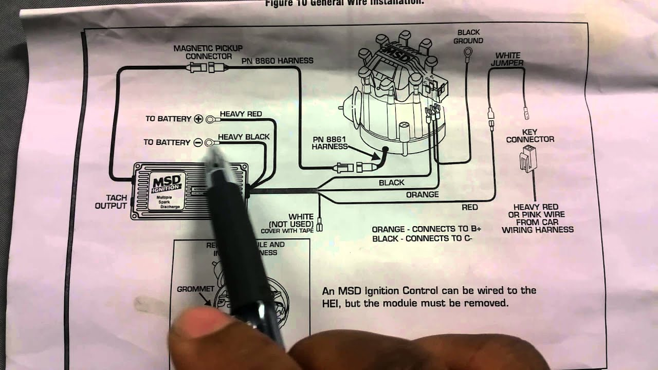 Msd Ignition Wiring Diagram Mopar Msd Distributor Wiring Diagram Msd