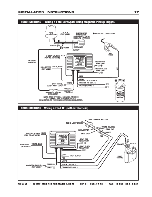 small resolution of msd 8362 distributor wiring diagram
