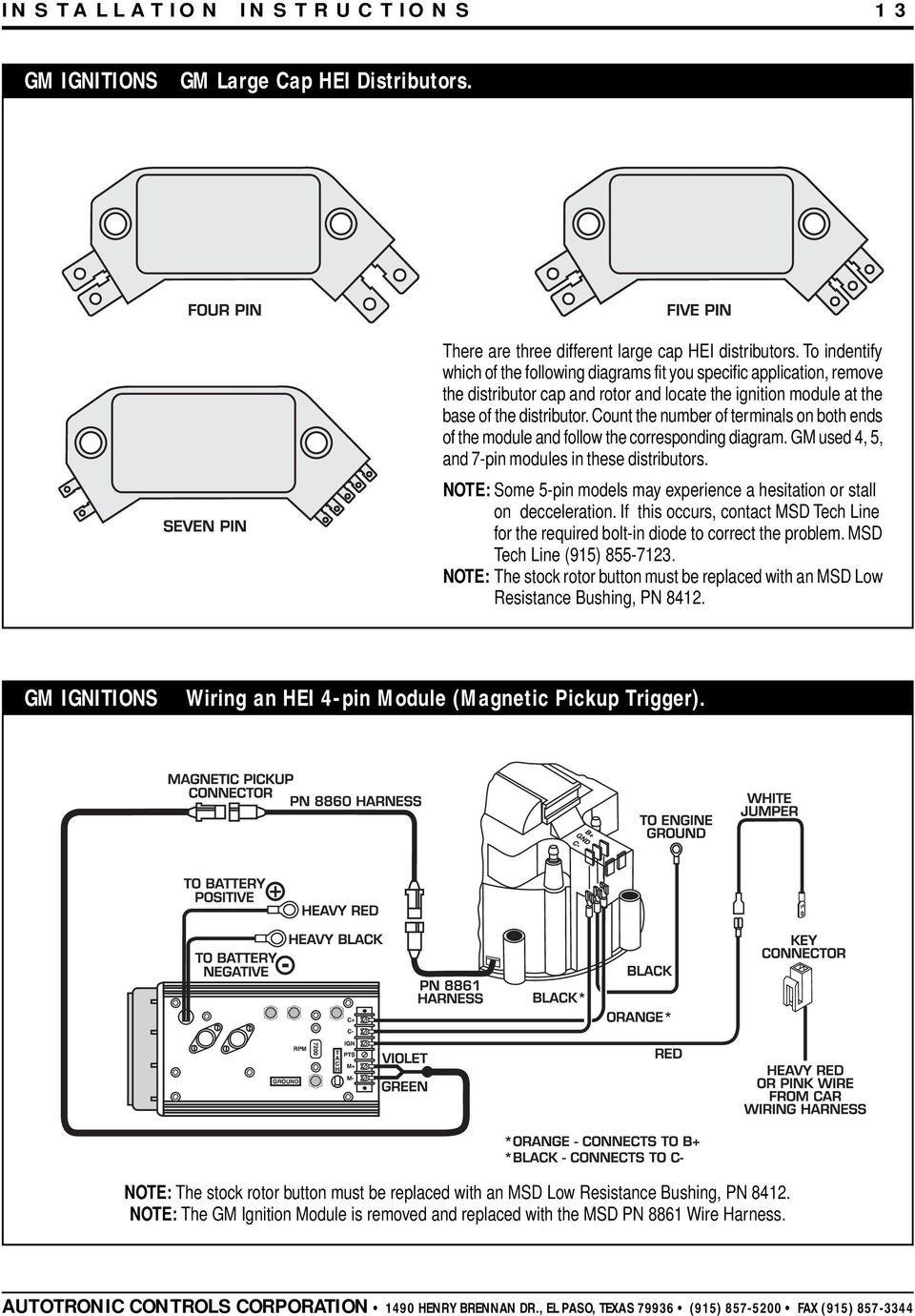 hight resolution of msd 7al 2 wiring diagram 7220