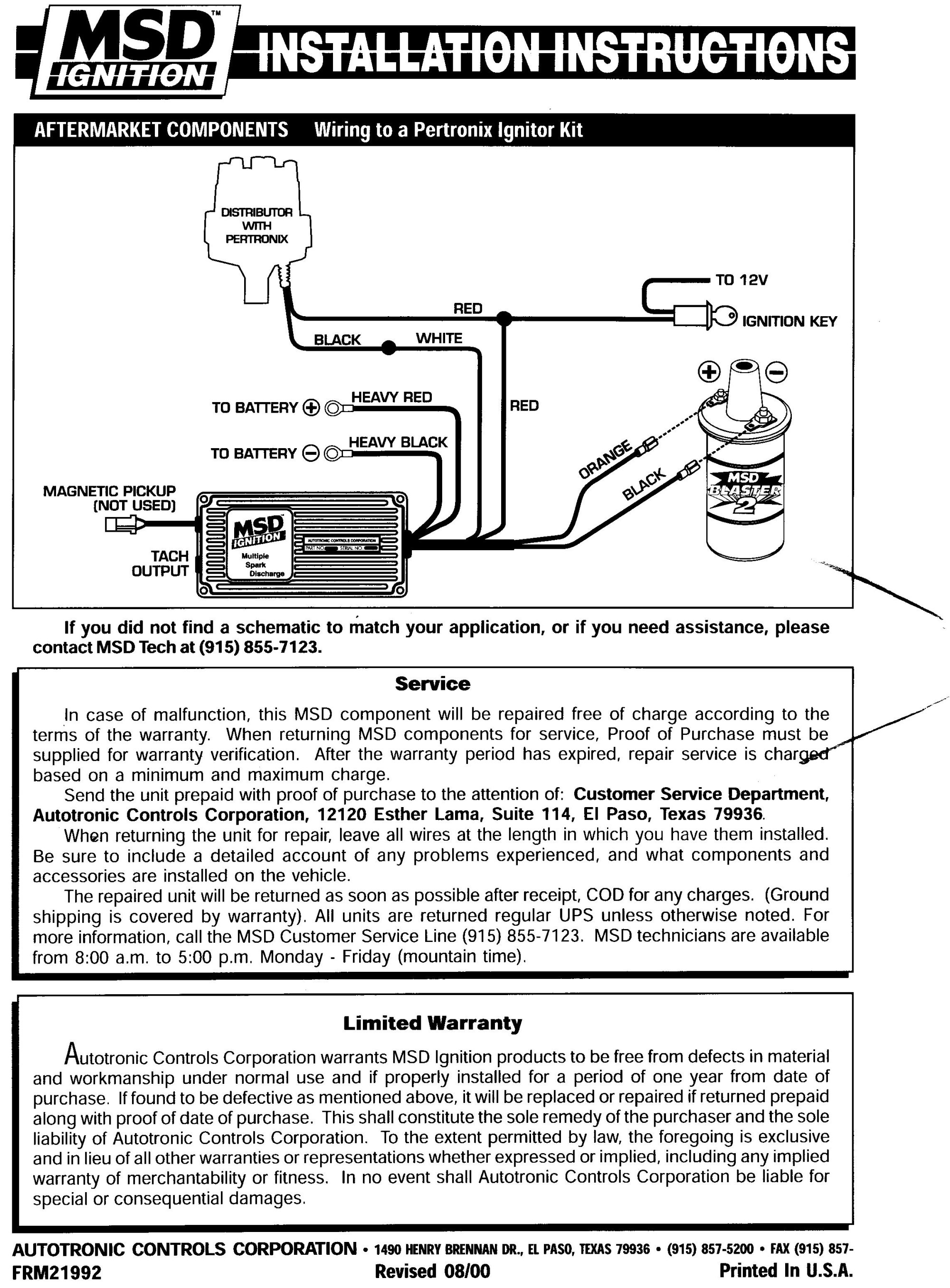 hight resolution of msd 8350 wiring diagram ford