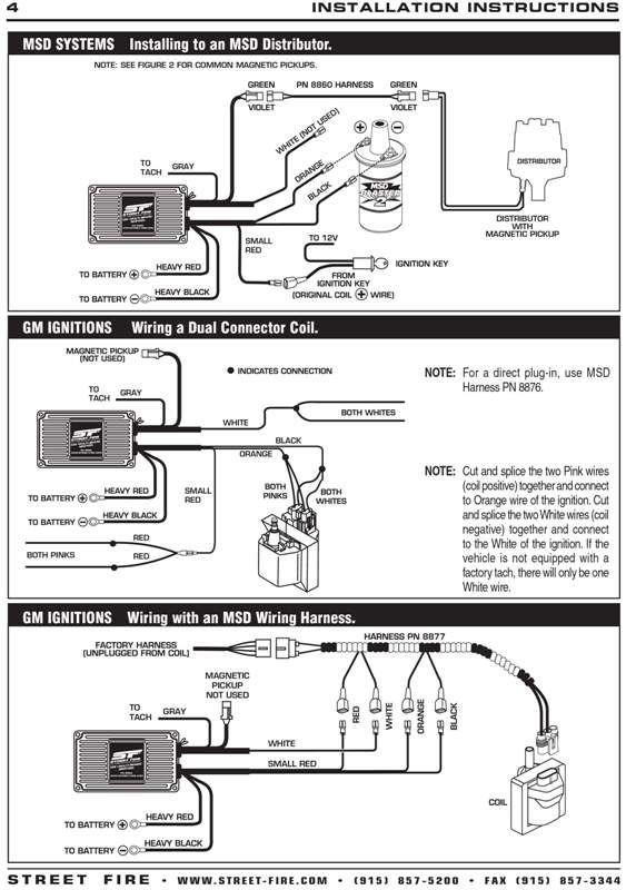 Msd Streetfire 5520 Wiring Diagram