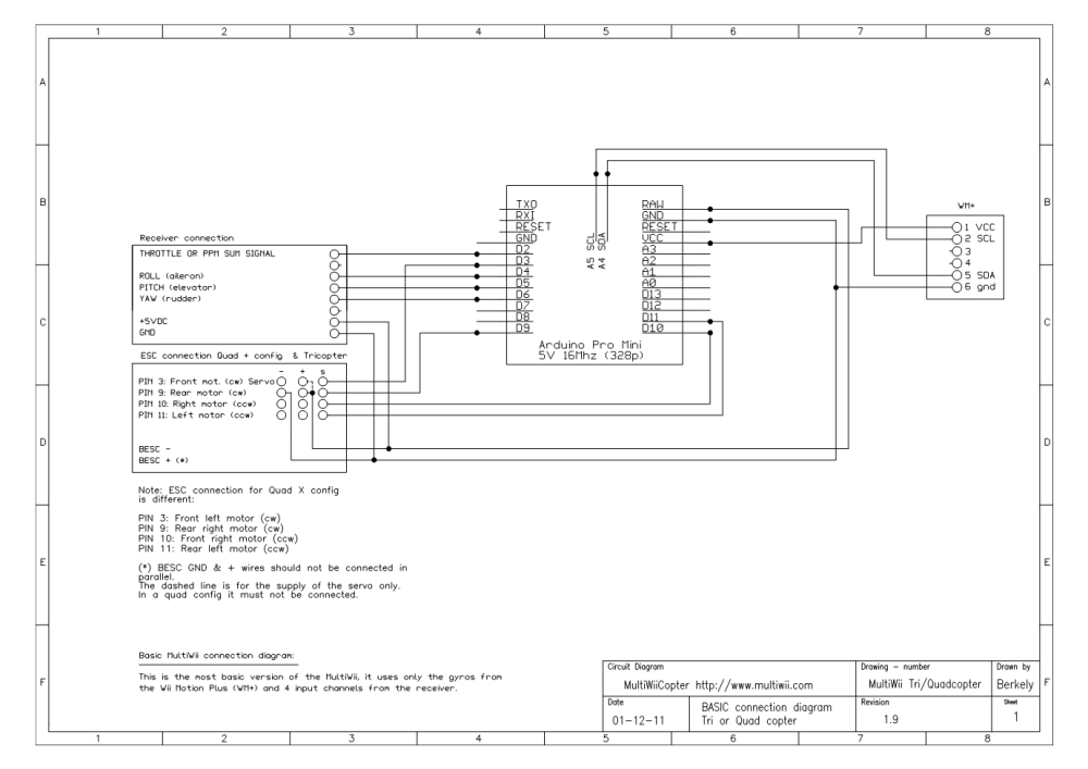 medium resolution of tricopter wiring diagram