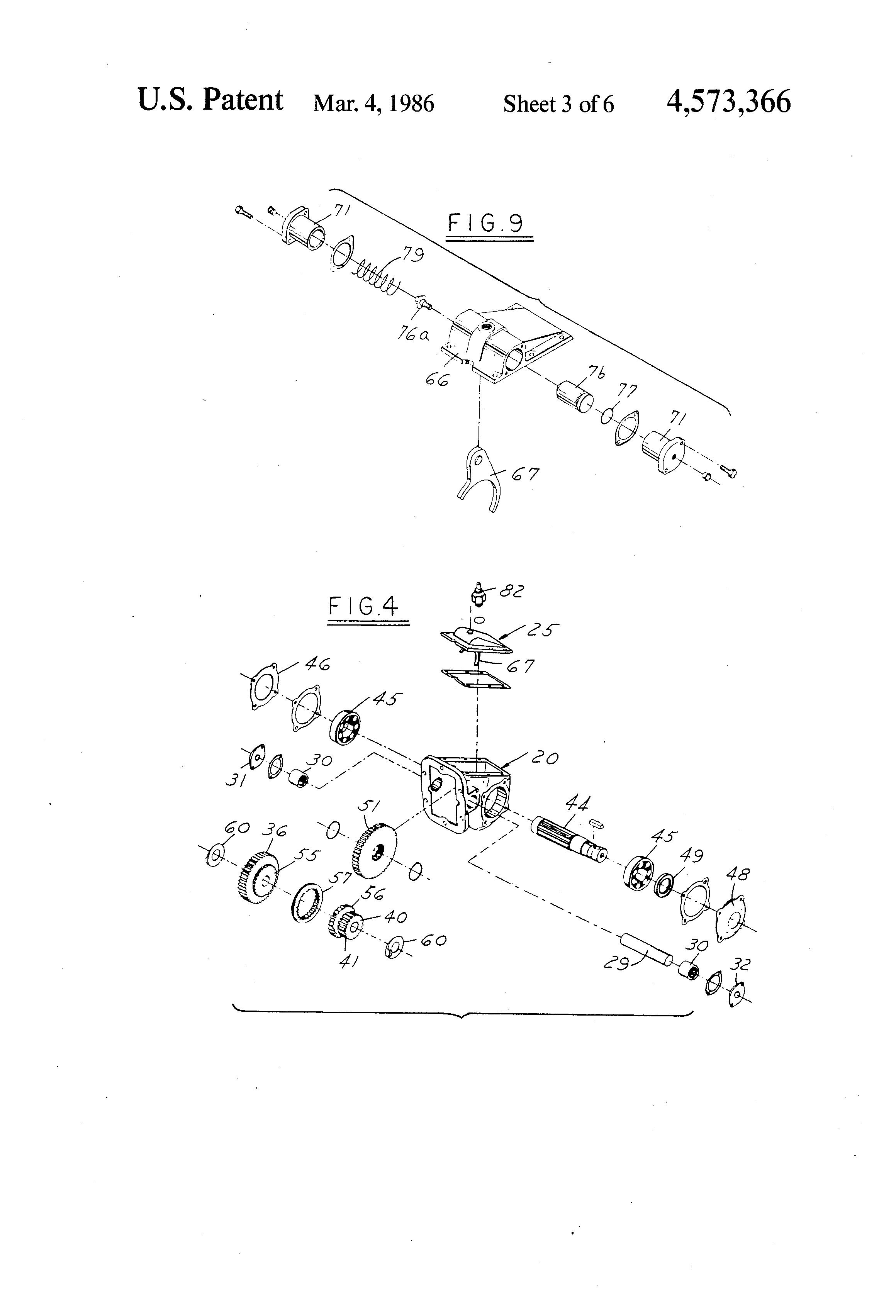 Muncie Pto Pump Diagram