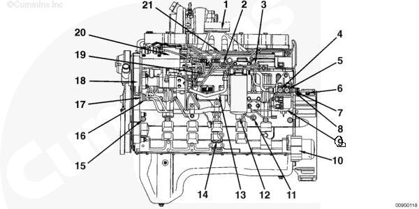 N14 Cummins Fuel System Diagram
