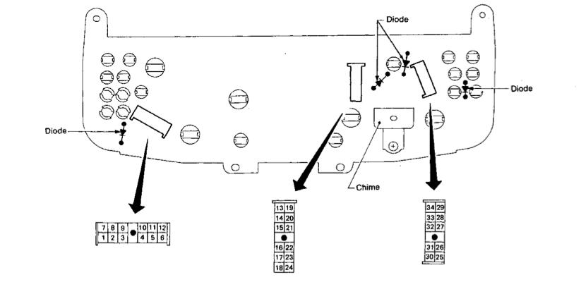 Nissan Primera P10 Wiring Diagram