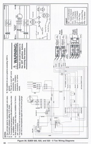 Nordyne E2eb 015ha Wiring Diagram