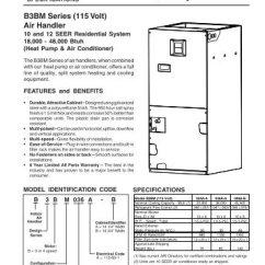 Nordyne Wiring Diagram Air Handler Fios Home E2eb 015ha