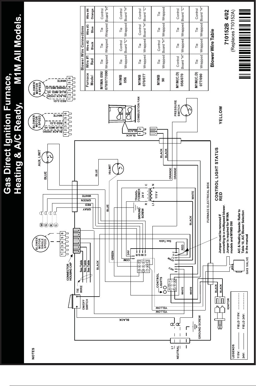 Nordyne E2eb-017ha Wiring Diagram