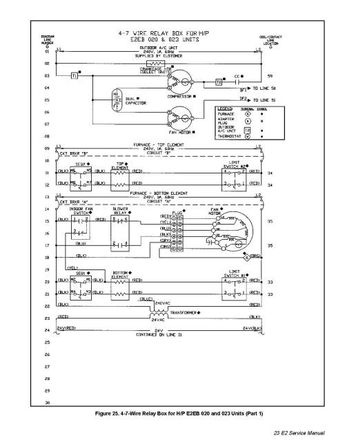 small resolution of thermostat wiring diagram for nordyne a c