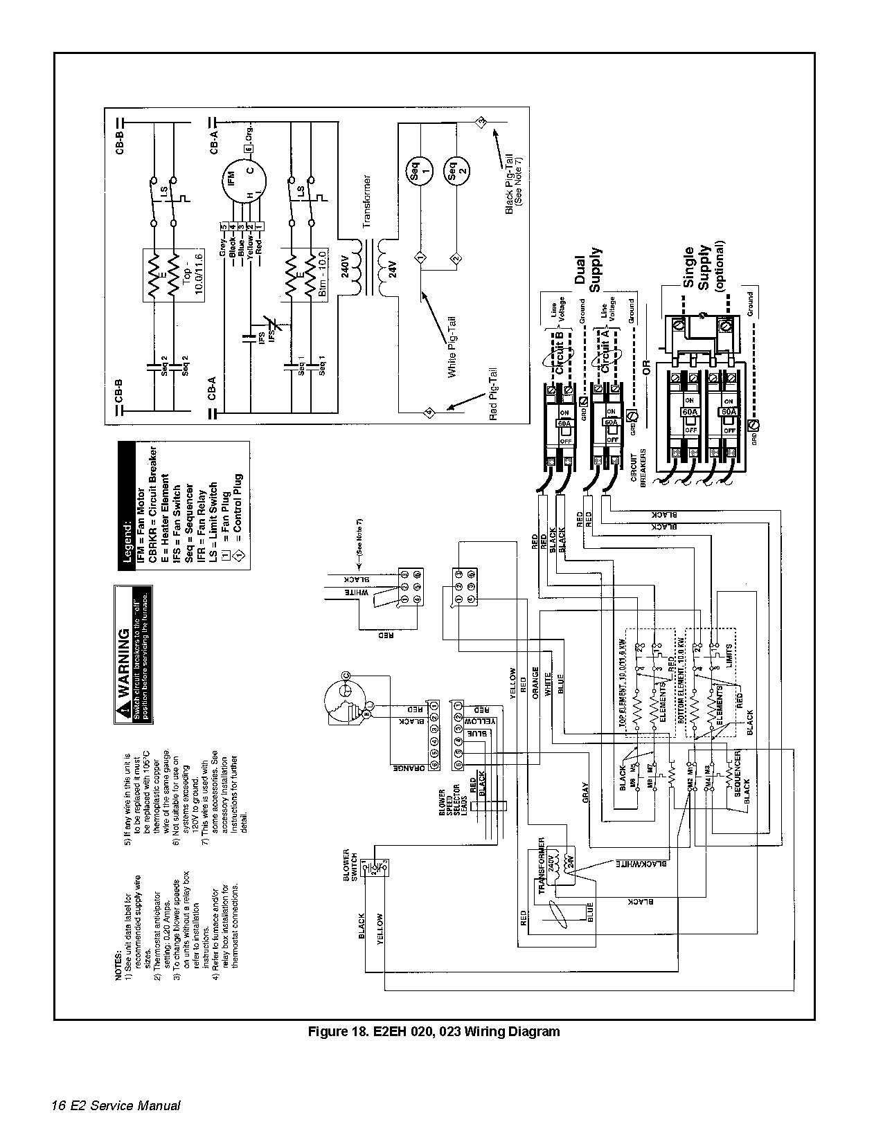 Nordyne Thermostat Wiring Diagram