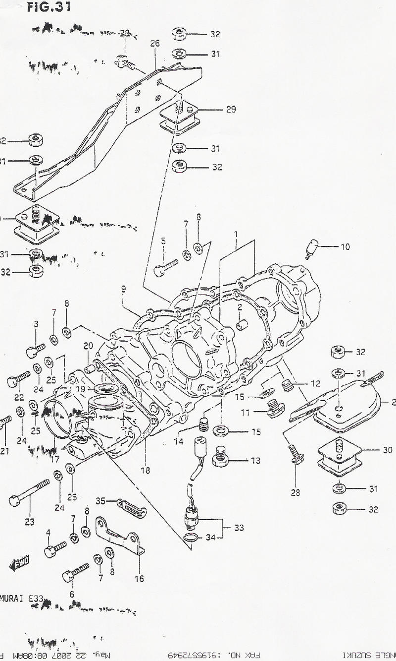 Np241 Transfer Case Diagram