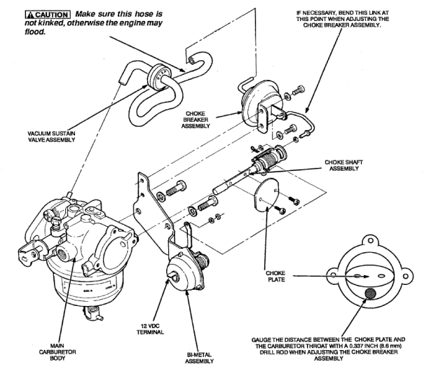 Onan 4000 Carburetor Diagram