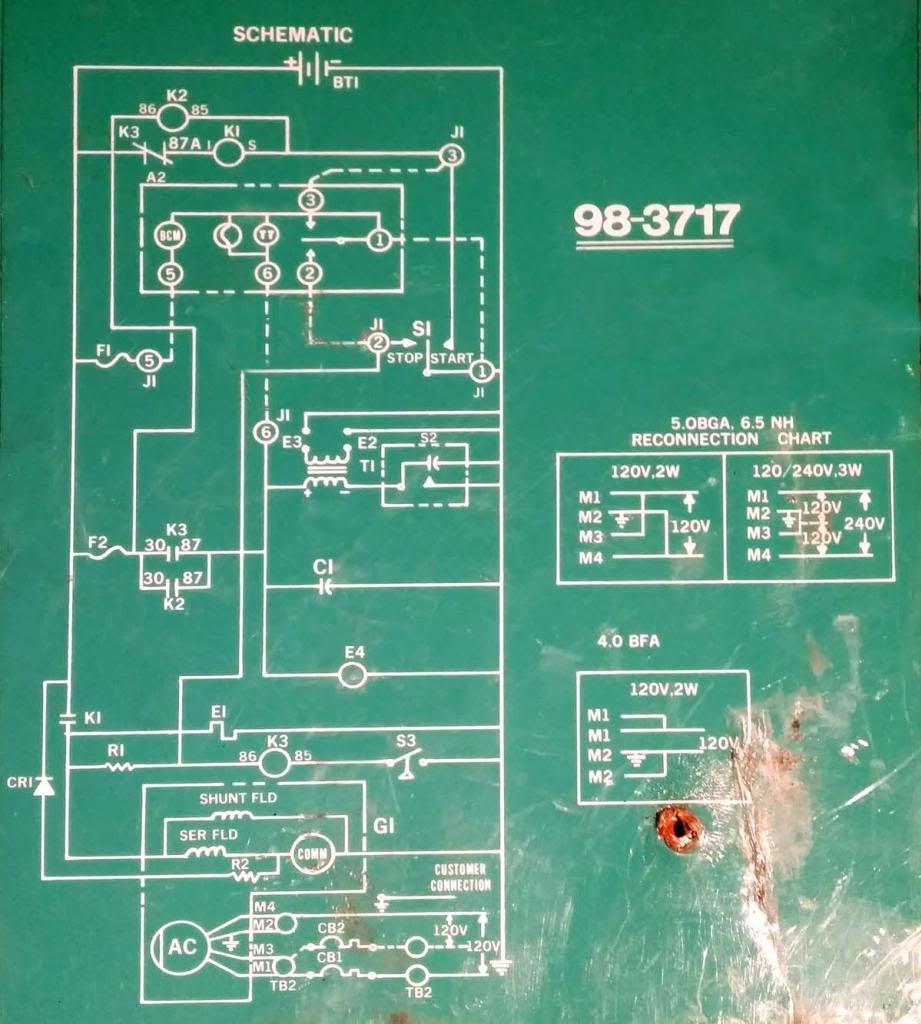 Generator Wiring Diagram Besides Onan 6 5 Genset Rv Generator Wiring