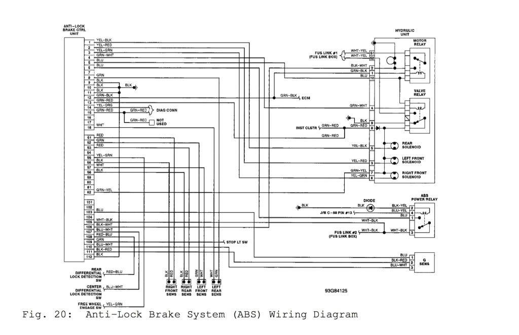 Pajero 2.8 Wiring Diagram