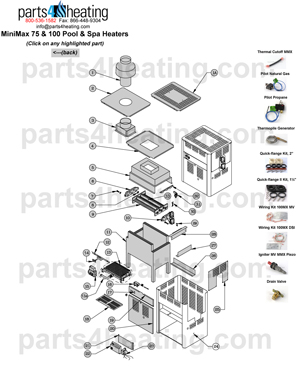 Pentair Minimax 200 Millivolt Wiring Diagram