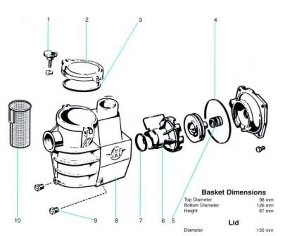 Pentair Whisperflo Parts Diagram