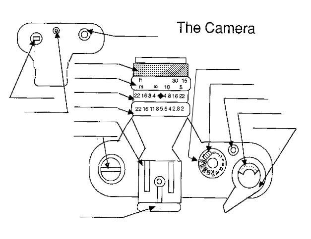 Pentax K1000 Parts Diagram