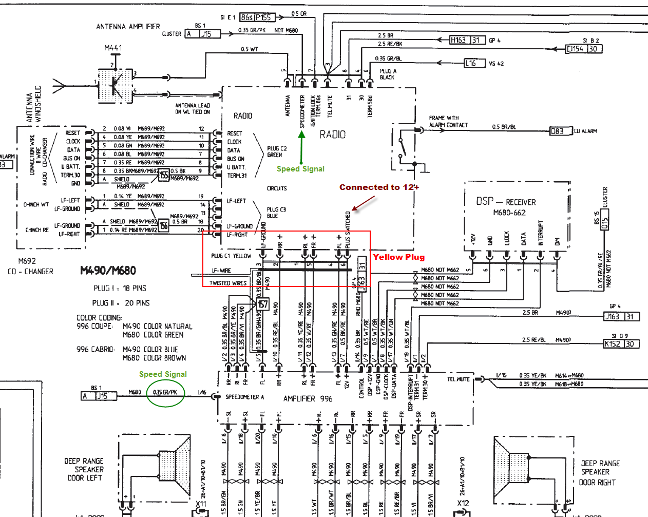 hight resolution of pioneer car speaker wiring diagram