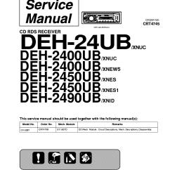 Pioneer Deh 1200mp Wiring Diagram 2 2000 Jeep Tj Data Diagrampioneer Manual