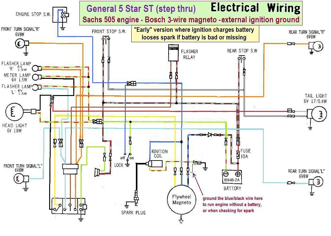 hight resolution of puch moped wiring diagram