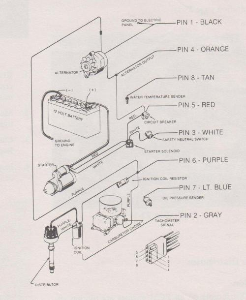 small resolution of ford alternator wiring diagram for choke