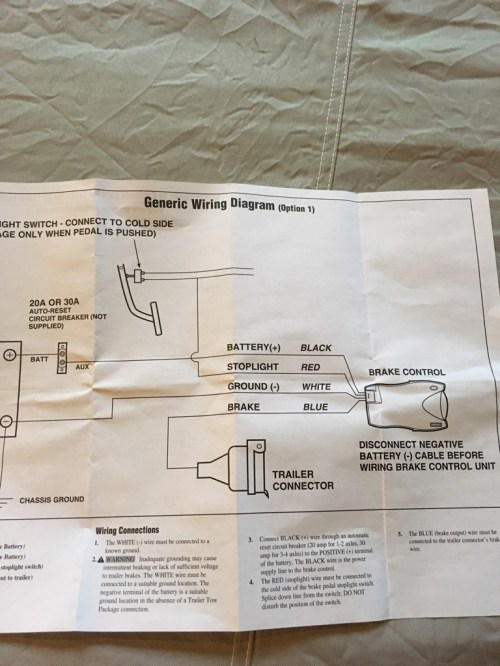 small resolution of reese trailer brake controller wiring diagram